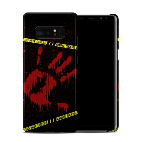 Crime Scene Samsung Galaxy Note 8 Clip Case