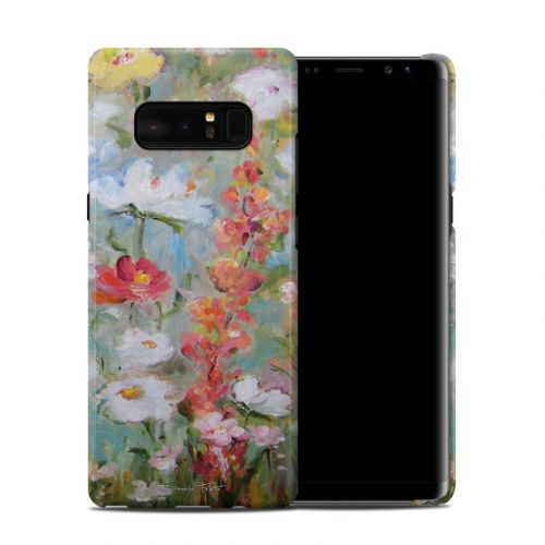 Flower Blooms Samsung Galaxy Note 8 Clip Case