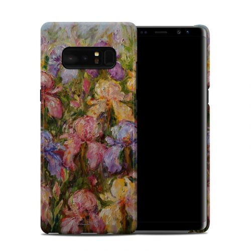 Field Of Irises Galaxy Note 8 Clip Case