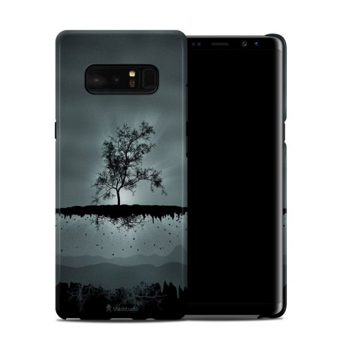 Flying Tree Black Galaxy Note 8 Clip Case