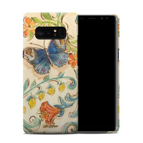 Garden Scroll Samsung Galaxy Note 8 Clip Case