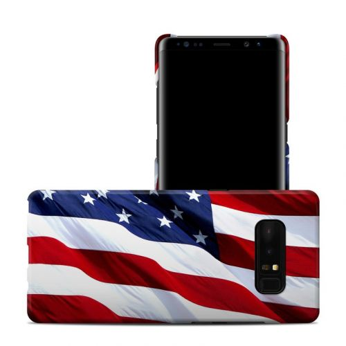 Patriotic Samsung Galaxy Note 8 Clip Case