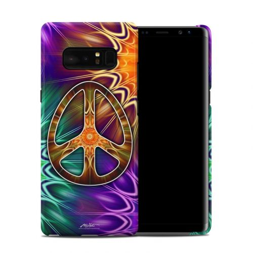 Peace Triptik Galaxy Note 8 Clip Case