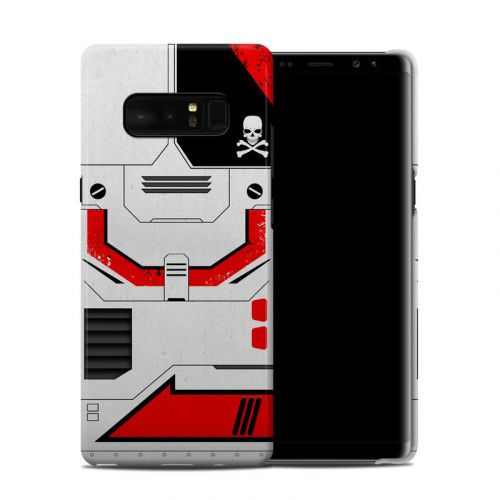 Red Valkyrie Samsung Galaxy Note 8 Clip Case