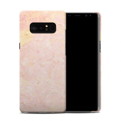 Rose Gold Marble Samsung Galaxy Note 8 Clip Case