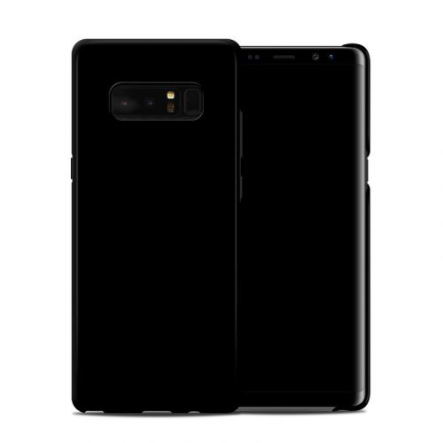 Solid State Black Samsung Galaxy Note 8 Clip Case