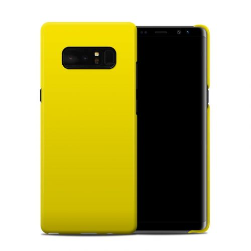 Solid State Yellow Samsung Galaxy Note 8 Clip Case