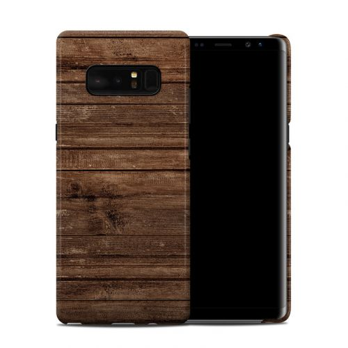Stripped Wood Samsung Galaxy Note 8 Clip Case