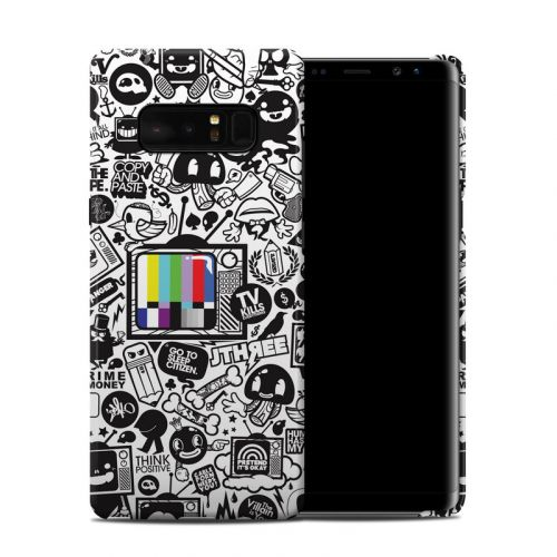 TV Kills Everything Samsung Galaxy Note 8 Clip Case