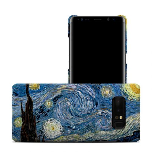 Starry Night Samsung Galaxy Note 8 Clip Case