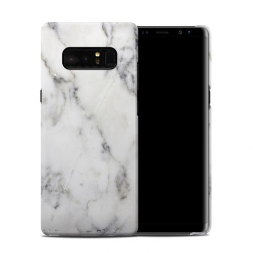 White Marble Samsung Galaxy Note 8 Clip Case