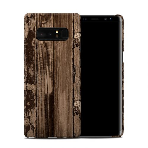 Weathered Wood Galaxy Note 8 Clip Case