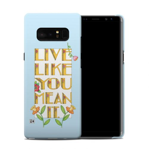 Mean It Samsung Galaxy Note 8 Clip Case