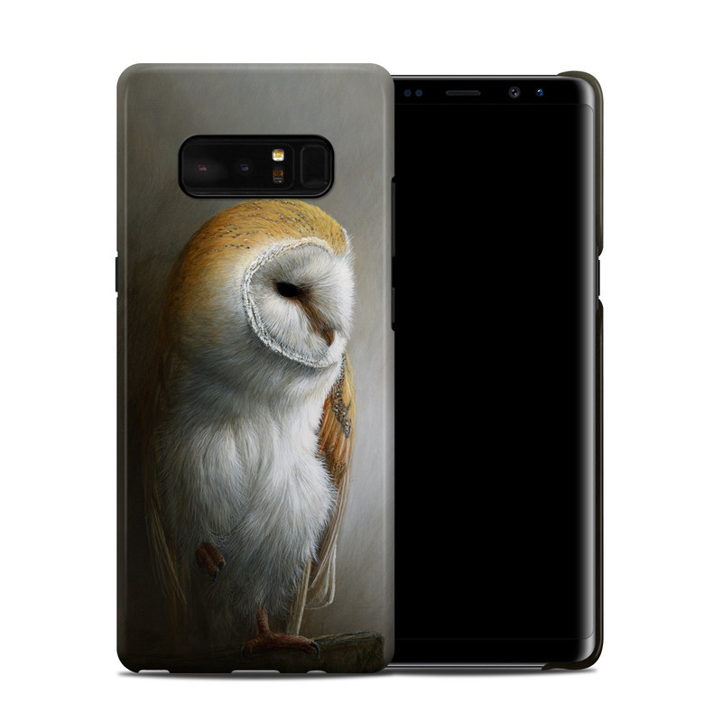 Barn Owl Samsung Galaxy Note 8 Clip Case