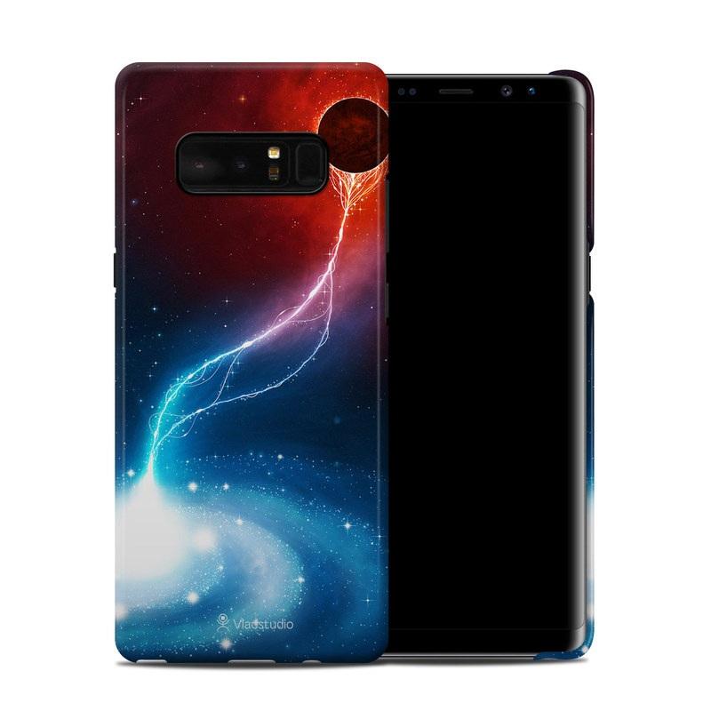 Black Hole Samsung Galaxy Note 8 Clip Case