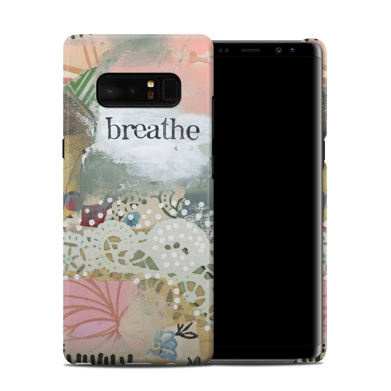 Samsung Galaxy Note 8 Clip Case design of Butterfly, Moths and butterflies, Insect, Pollinator, Organism, Illustration, Brush-footed butterfly, Art, Fictional character, Wildflower with pink, brown, white, black, red, blue, green colors