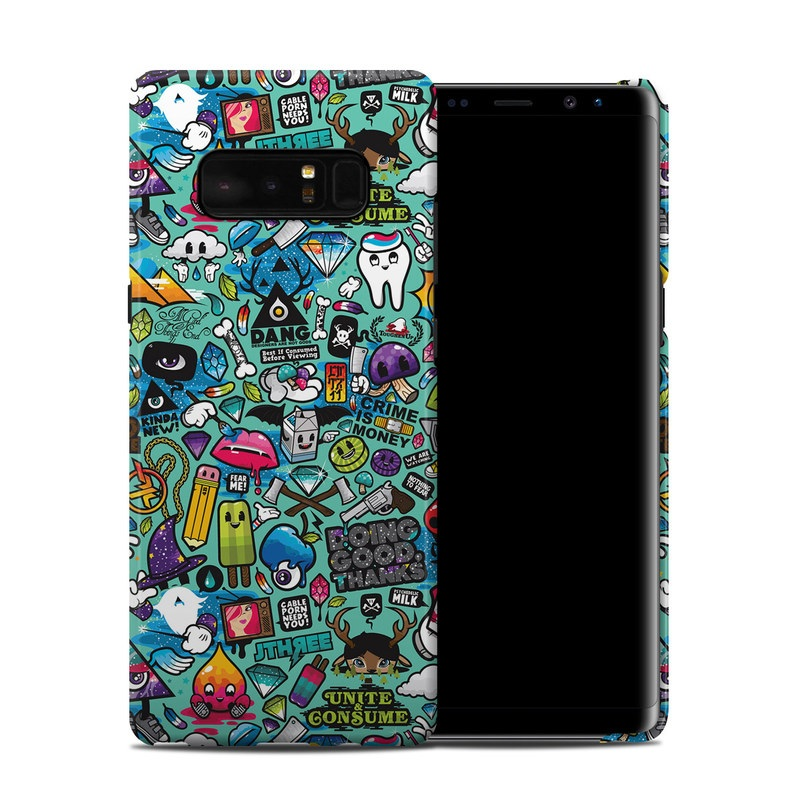 Jewel Thief Samsung Galaxy Note 8 Clip Case