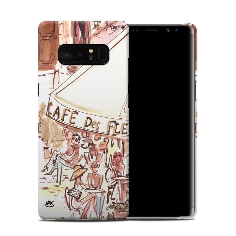 Paris Makes Me Happy Samsung Galaxy Note 8 Clip Case