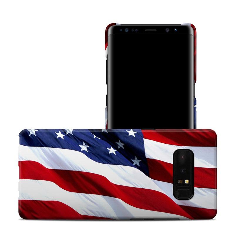 Patriotic Galaxy Note 8 Clip Case