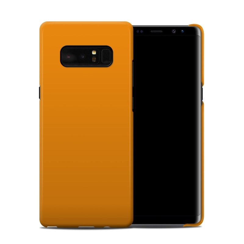Solid State Orange Samsung Galaxy Note 8 Clip Case