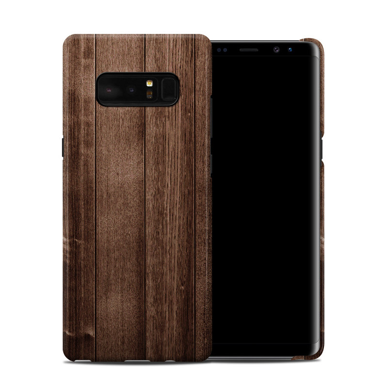 Samsung Galaxy Note 8 Clip Case design of Wood, Wood flooring, Hardwood, Wood stain, Plank, Brown, Floor, Line, Flooring, Pattern with brown colors