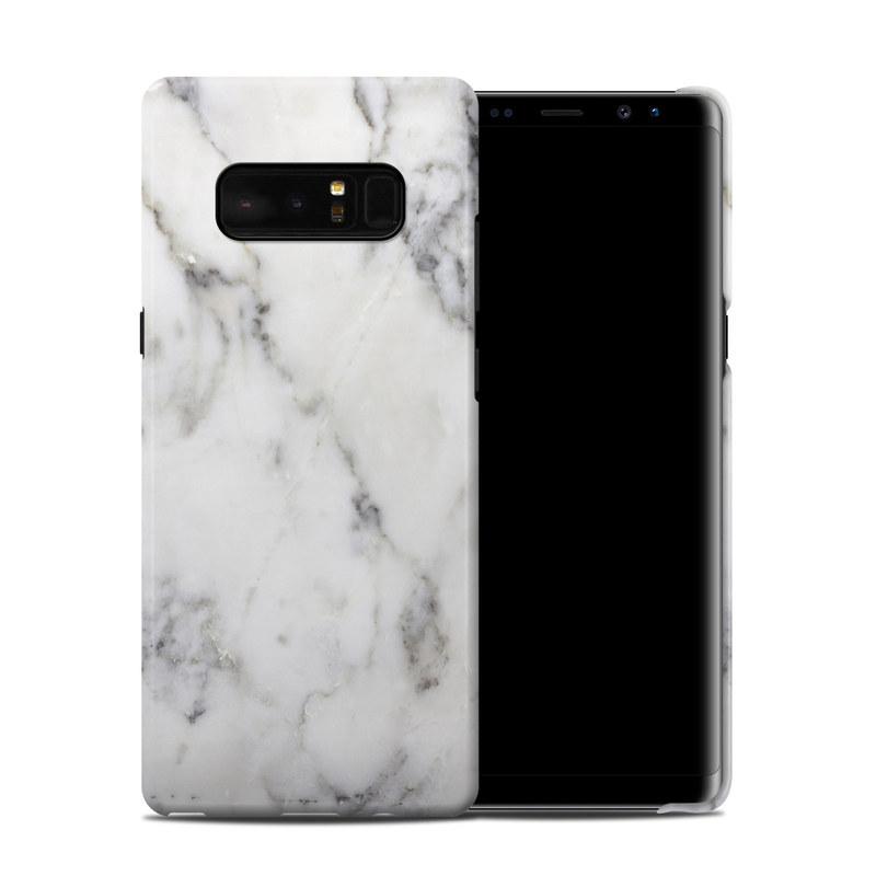 White Marble Samsung Galaxy Note 8 Clip Case