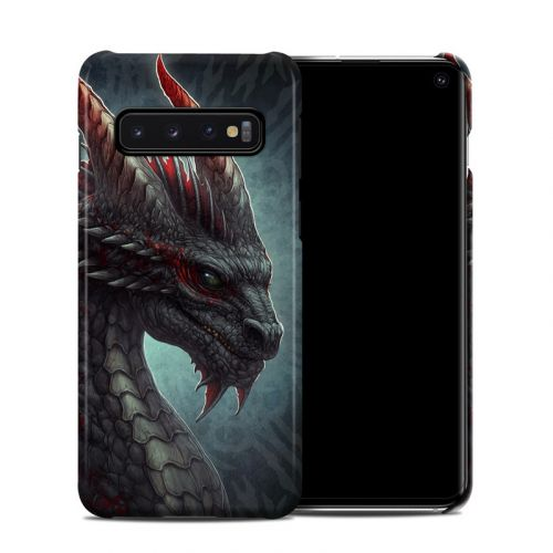 Black Dragon Samsung Galaxy S10 Clip Case