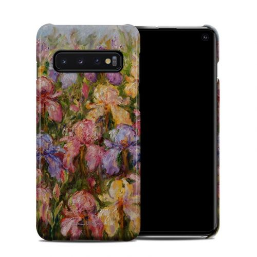 Field Of Irises Samsung Galaxy S10 Clip Case