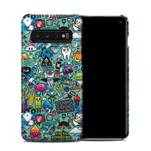 Jewel Thief Samsung Galaxy S10 Clip Case