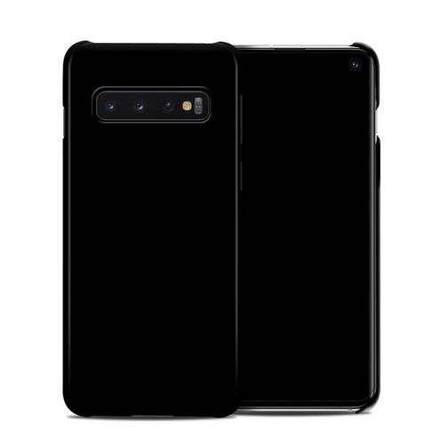 Solid State Black Samsung Galaxy S10 Clip Case