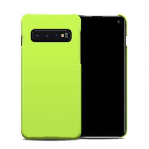 Solid State Lime Samsung Galaxy S10 Clip Case