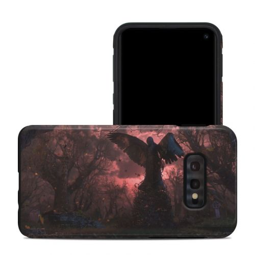 Black Angel Samsung Galaxy S10e Hybrid Case