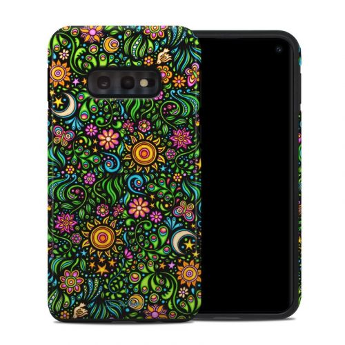 Nature Ditzy Samsung Galaxy S10e Hybrid Case