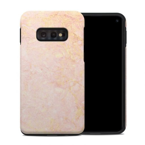Rose Gold Marble Samsung Galaxy S10e Hybrid Case