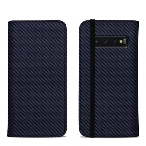 Carbon Samsung Galaxy S10 Folio Case