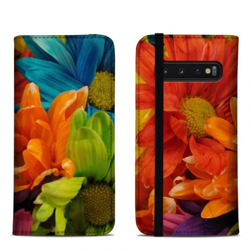 Colours Samsung Galaxy S10 Folio Case