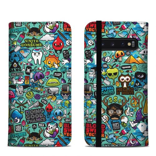 Jewel Thief Samsung Galaxy S10 Folio Case
