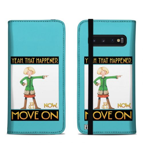 Move On Samsung Galaxy S10 Folio Case