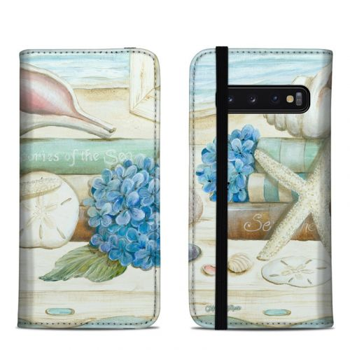 Stories of the Sea Samsung Galaxy S10 Folio Case