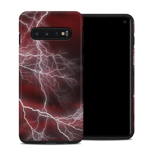 Apocalypse Red Samsung Galaxy S10 Hybrid Case