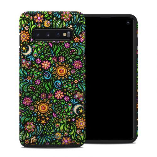 Nature Ditzy Samsung Galaxy S10 Hybrid Case