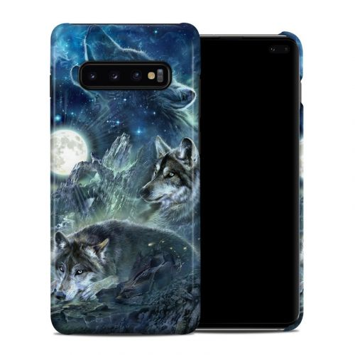 Bark At The Moon Samsung Galaxy S10 Plus Clip Case