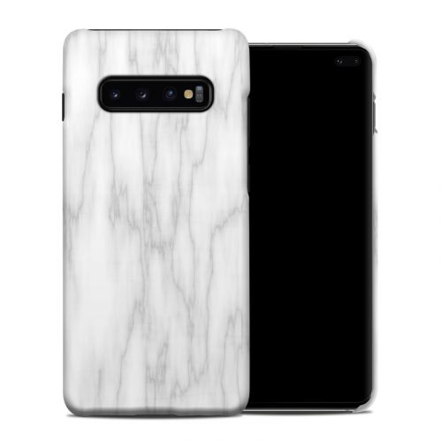 Bianco Marble Samsung Galaxy S10 Plus Clip Case
