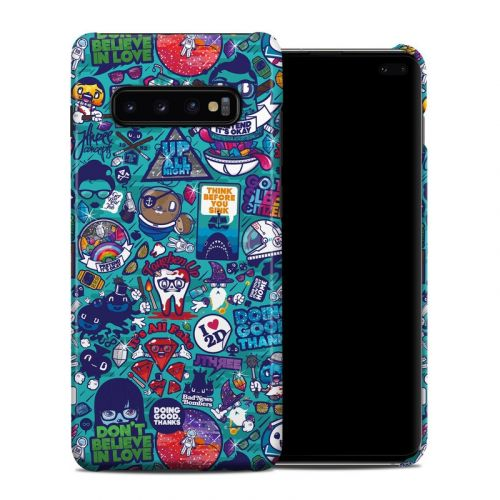 Cosmic Ray Samsung Galaxy S10 Plus Clip Case
