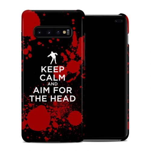 Zombie Samsung Galaxy S10 Plus Clip Case