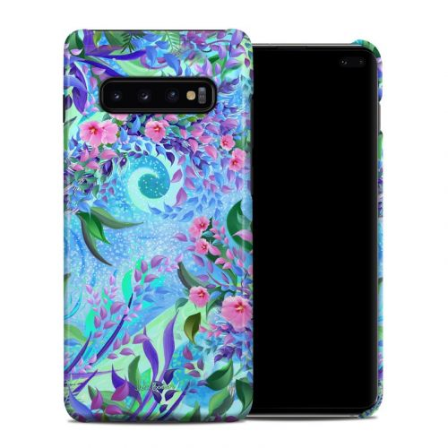 Lavender Flowers Samsung Galaxy S10 Plus Clip Case