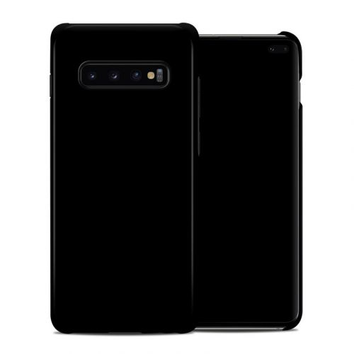 Solid State Black Samsung Galaxy S10 Plus Clip Case