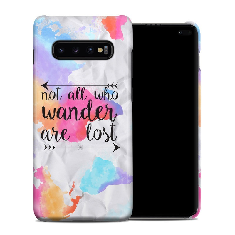 Samsung Galaxy S10 Plus Clip Case design of Font, Text, Calligraphy, Graphics with black, white, orange, pink, red, blue, purple, yellow colors