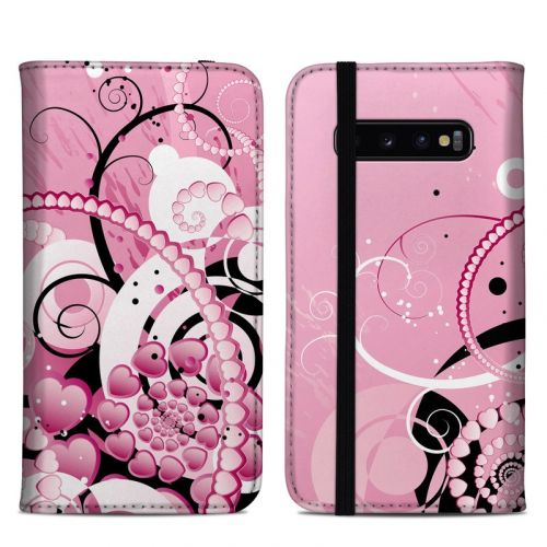 Her Abstraction Samsung Galaxy S10 Plus Folio Case
