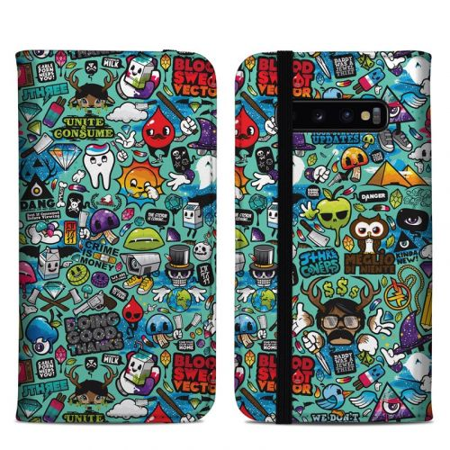 Jewel Thief Samsung Galaxy S10 Plus Folio Case